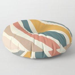 Giving - Abstract Art Print Floor Pillow