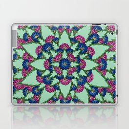 Pink and Blue Blooms Laptop & iPad Skin