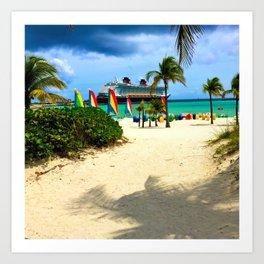 Castaway Cay - DCL Art Print
