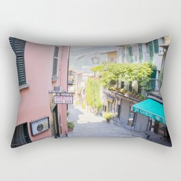 Bellagio stairway, Lake Como, Italy Rectangular Pillow
