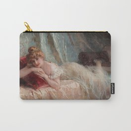 Idle Woman (1906) Carry-All Pouch