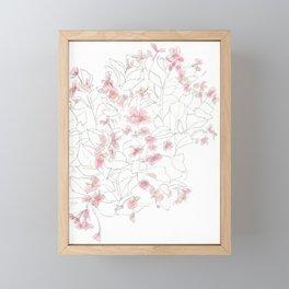 Flors Framed Mini Art Print