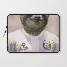 Football Sloth Laptop Sleeve
