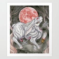 Myth of the Rabbit's Foot Art Print