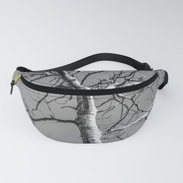 Bare Tree in the sky Fanny Pack