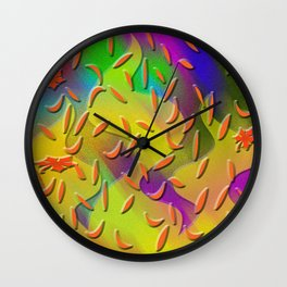 Autumn feeling Wall Clock