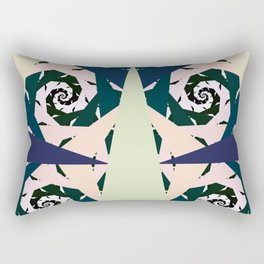 Knight of Thorns- Blue Version Rectangular Pillow