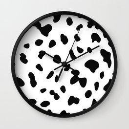 Dalmatian dog spot Wall Clock