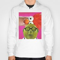 muppets Hoodies featuring The Muppets - Bunsen and Beaker by Kristin Frenzel