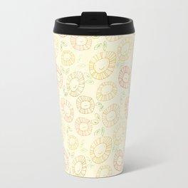 smiley flowers Travel Mug