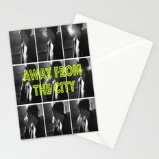AWAY FROM THE CITY Stationery Cards