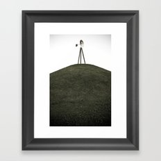 Top of the Hill Framed Art Print