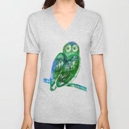 Eule | Owl Unisex V-Neck