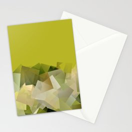 Mount St. Victory geometric. Design for Paul Cézanne Stationery Cards