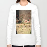 poppy Long Sleeve T-shirts featuring Poppy by Four Hands Art