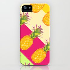 Tropical Pineapples Slim Case iPhone (5, 5s)