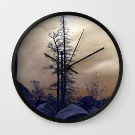 Dead Tree At Needles Highway Wall Clock