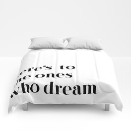 Here's to the ones who dream: La La Land Comforters