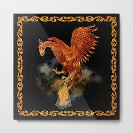 Ignis Magnum: Firebird Metal Print