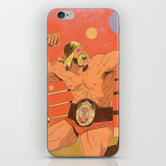 The Hulkster! iPhone & iPod Skin