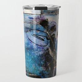 Midnight Sky, Acrylic artwork Travel Mug