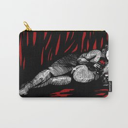 Lilith in red Carry-All Pouch