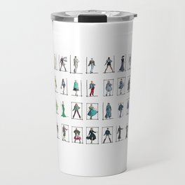 Fashion Rainbow Travel Mug