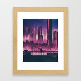 ZERO DAWN (everyday 04.29.18) Framed Art Print