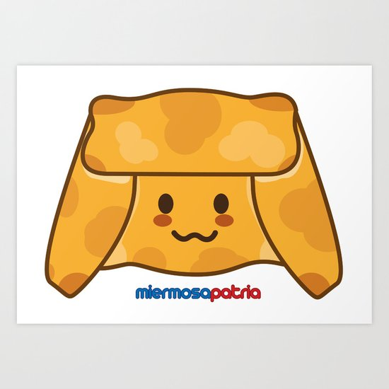 Empanada de Pino Art Print