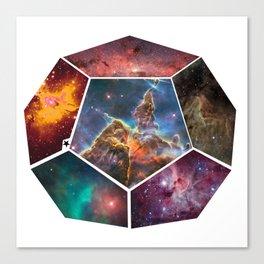 Universal Geometry no.3 Dodecagon Canvas Print