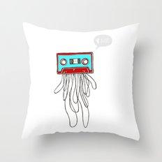 Cassette Boy Throw Pillow