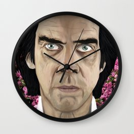Nick Cave eyes don't lie baby Wall Clock