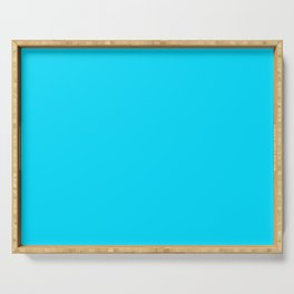Neon Blue Serving Tray