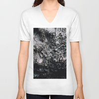 iceland V-neck T-shirts featuring iceland by Anna Levina