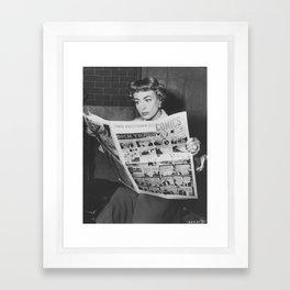 Joan's Comics Framed Art Print