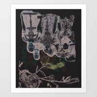 FASHIONBULL Art Print