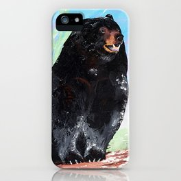 Animal - Courage of a Bear - by LiliFlore iPhone Case