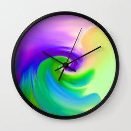 """""""Summer Garden #14"""" Print Wall Clock"""