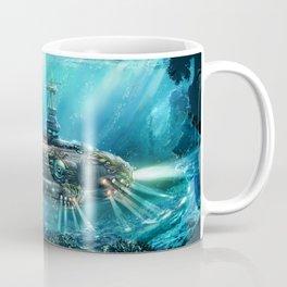 Steampunk Submarine Coffee Mug