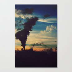 Southside Chicago Factory Canvas Print