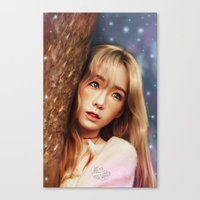 snsd Canvas Prints featuring TAEYEON - I - Digital Art by Luzgunarce_sm-Official