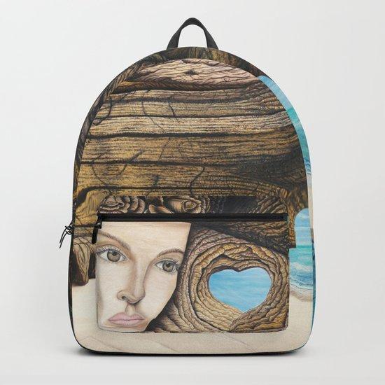 L'amour couleur azur Backpack