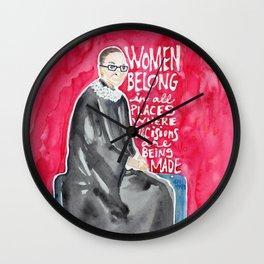 RBG Wall Clock