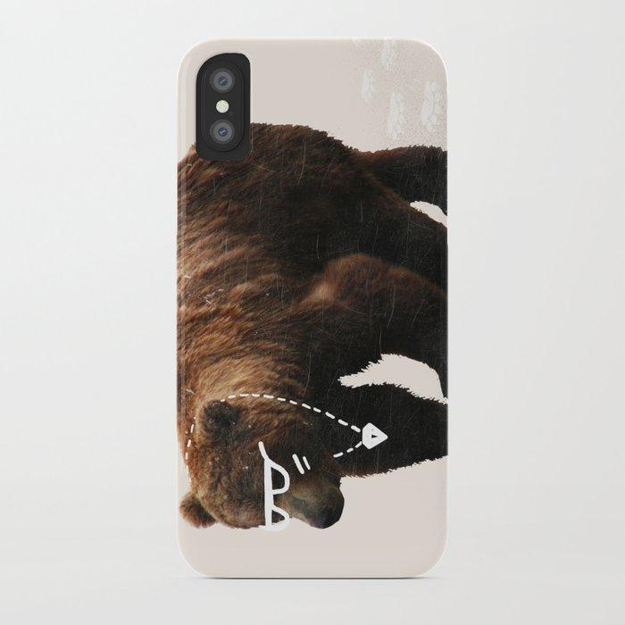 Kodiak Arrest iPhone Case