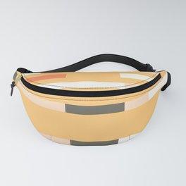 Stripe pattern tape Fanny Pack