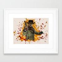 django Framed Art Prints featuring Django by thinkinink