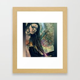 860-DB Framed Art Print