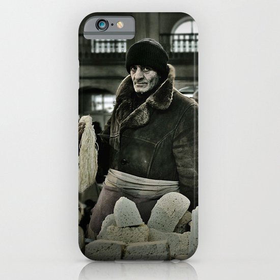 Cheese Seller iPhone & iPod Case