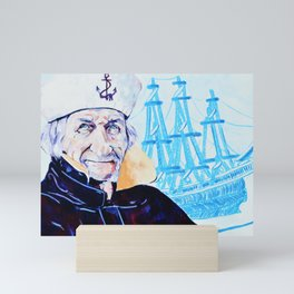 Sailor Dan Mini Art Print
