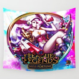 Arcade Miss Fortune Wall Tapestry